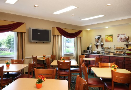 Fairfield Inn Scranton: Breakfast Room
