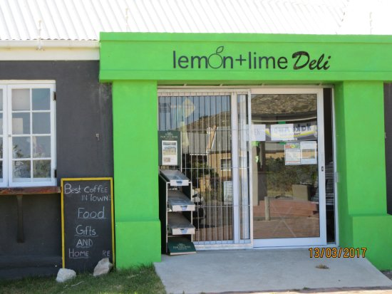 Pringle Bay, South Africa: lemon+lime entrance