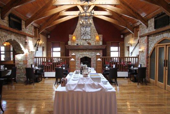 Ballyliffin, Ireland: Breakfast room