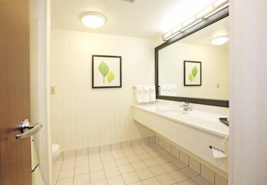 New Stanton, PA: Executive King Suite Bathroom