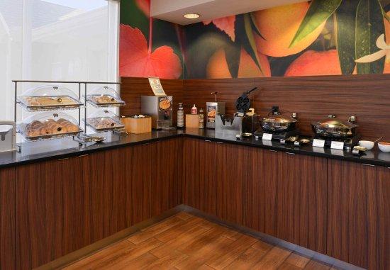 Anderson, Южная Каролина: Breakfast Buffet
