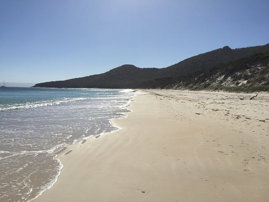Coles Bay, Australia: Hazard Bay - packed out