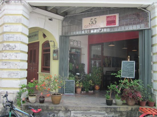 55 Cafe and Restaurant: front