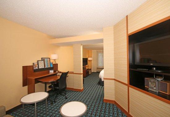 Aiken, Carolina del Sur: Suite Living Area