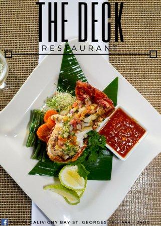 Petite Calivigny, Grenada: New menu
