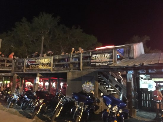 Iron Horse Saloon: Elevated walkways with stage views