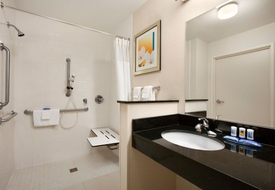 Humble, TX: Accessible Suite Bathroom