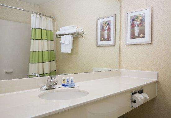 Roseville, Калифорния: Suite Bathroom