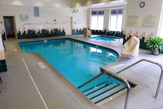 Hilton Garden Inn Rochester Downtown : Indoor Pool