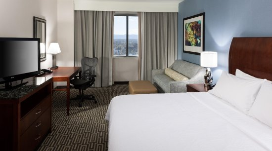 Hilton Garden Inn Denver Downtown: 1 King Bed Guest Room
