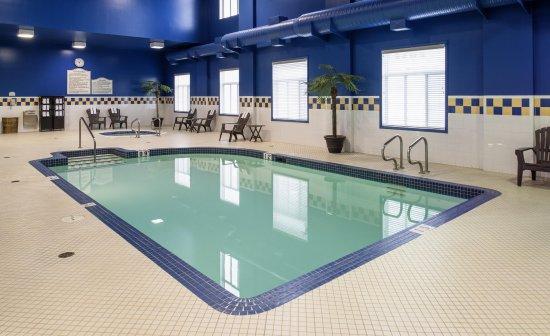 Hilton Garden Inn West Edmonton: Indoor Pool