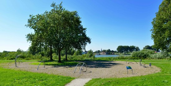 Zwijndrecht, Hollanda: Outdoor fitness