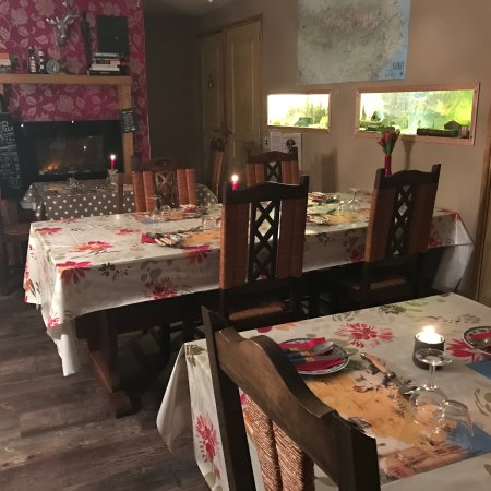 Crechets, Francia: Dining
