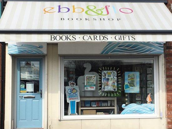 ebb & flo bookshop in sunny Chorley