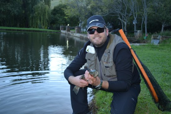 Dullstroom, África do Sul: catch and release rainbow trout