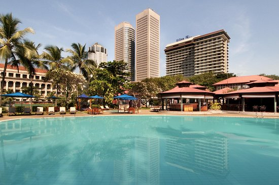 Hilton Colombo: Outdoor pool