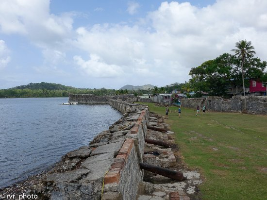 Portobelo National Park: Interior Fuerte de San Jerónimo