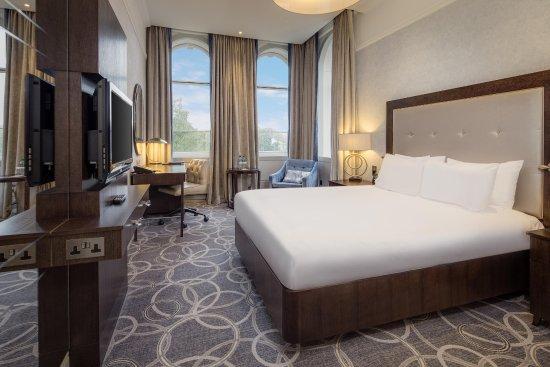 Hilton Glasgow Grosvenor Hotel: Double Hilton Deluxe room