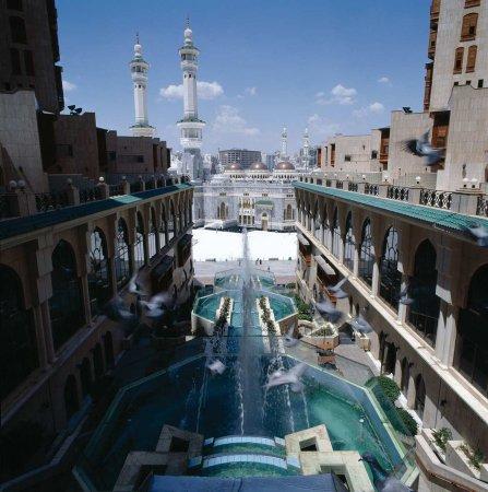 Makkah Hilton Hotel: Hotel Exterior