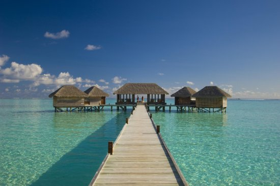 Rangali Island: The Over-Water Spa