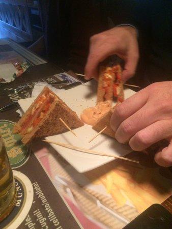 Selvazzano Dentro, Italia: Club sandwich