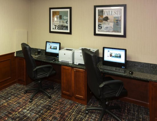 Hampton Inn Boston/Marlborough: Business Center