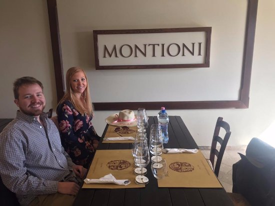 Montefalco, Italië: The Tasting after the tour