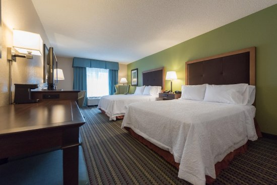 Hampton Inn Brooksville / Dade City: Two Queen Bedroom