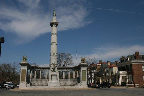 Glen Allen, فيرجينيا: Monument Avenue