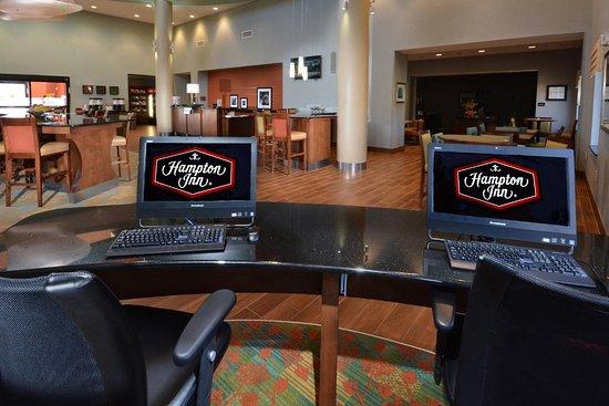 Hampton Inn Raleigh Durham Airport : Business Center