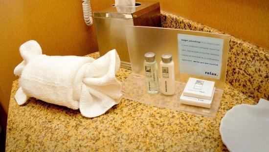 Hampton Inn Elizabethtown: Bathroom Amenities
