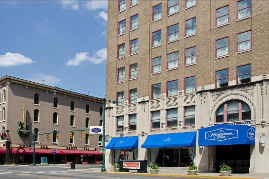 Welcome To Hampton Inn Indianapolis Downtown Picture Of