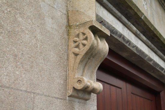 Templepatrick, UK: Stone bracket.