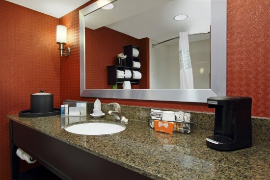 Hampton Inn Columbus Airport: Guest Room Vanity