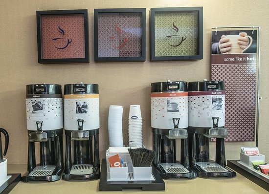 Clarksville, IN: Coffee Station