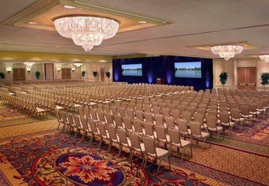 Newton, MA: Grand Ballroom Conference Setup