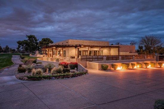 Paradise Valley, AZ: Lakeview Inn - Patio