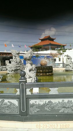 Sitiawan, Malezja: the fountain