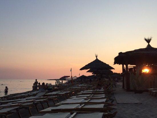 Togo Bay - La Spiaggia : TRamonto...