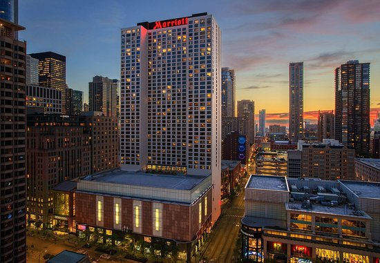 Chicago marriott downtown magnificent mile from 219 for All hotels downtown chicago