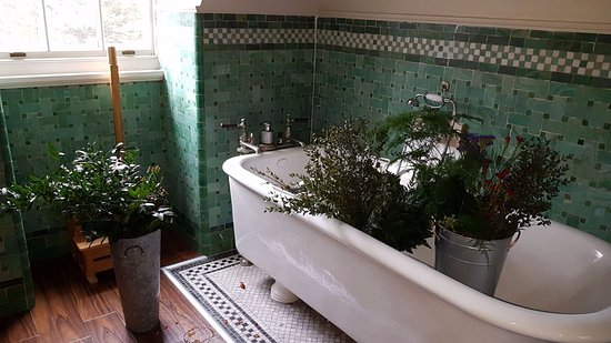 Crathorne, UK: Beautiful Norton Bath (also perfect for mother's flower arranging)
