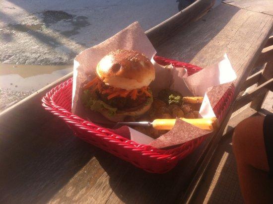 Burger Bar: Wild Boar Burger