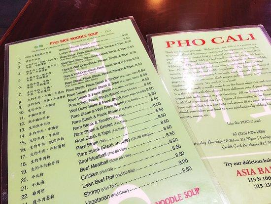 Photo1 Jpg Picture Of Pho Cali Vietnamese Restaurant