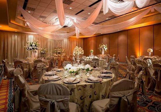 Coral Springs, Floride : Grand Ballroom   Wedding Reception