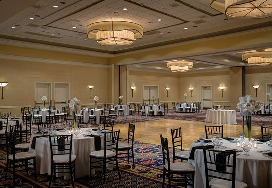 Torrance Marriott Redondo Beach: Wedding - Banquet Setup