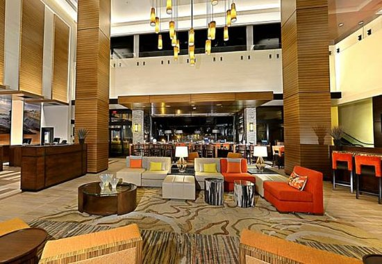 Our Lobby Seating Area at San Diego Marriott La Jolla