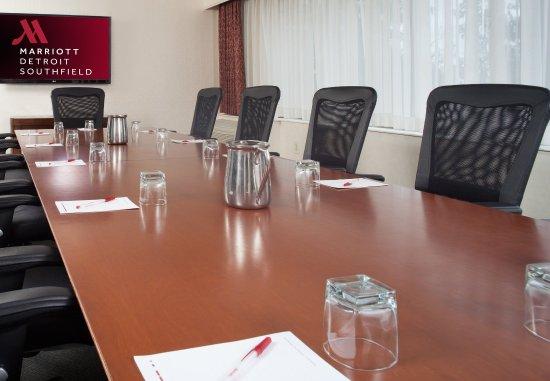 Southfield, MI: Erie Suite Boardroom