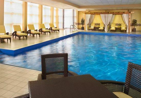 Detroit Marriott Troy: Indoor Pool