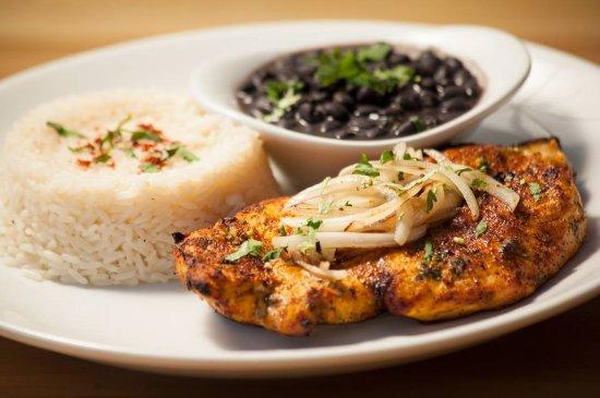 Нью-Брансуик, Нью-Джерси: chicken, rice and beans