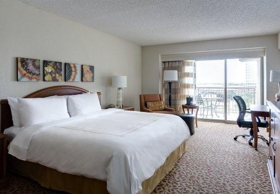 Ίρβινγκ, Τέξας: King Guest Room - Balcony Lake View